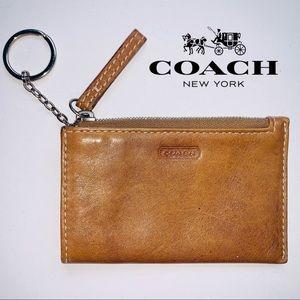 Coach Mini Credit Card ID Holder Case Wallet